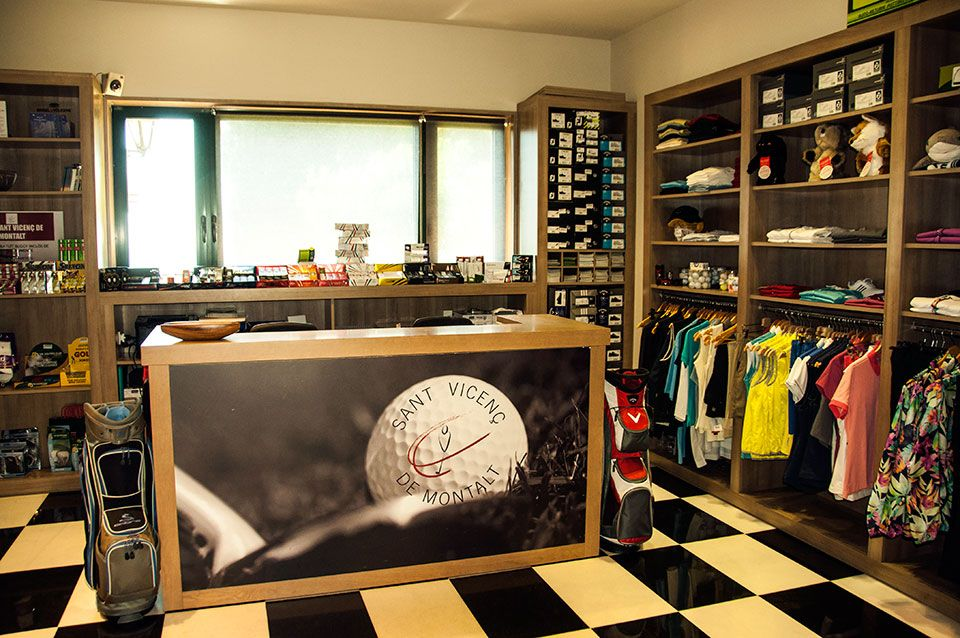 Pro Shop Golf Sant Vicenç
