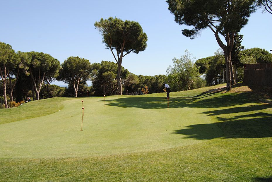 Putting green (Golf Sant Vicenç)