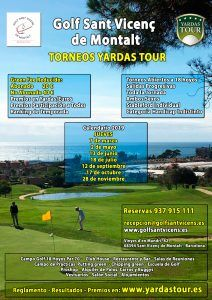 Circuito Yardas Tour Golf Sant Vicenç